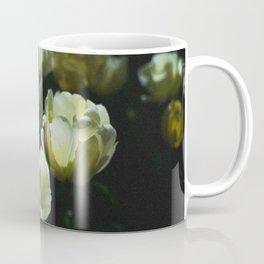 White Tulips in the Sunlight Coffee Mug