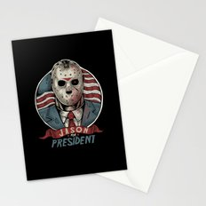 Jason For President Stationery Cards