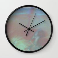 bath Wall Clocks featuring Bath by ONEDAY+GRAPHIC