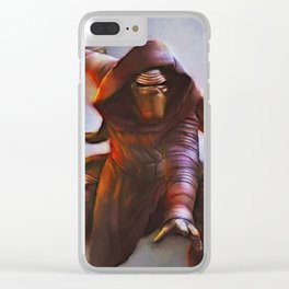 Kylo Ren Clear iPhone Case