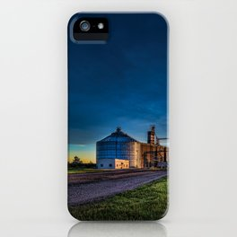 Hutchinson Grain Elevator iPhone Case