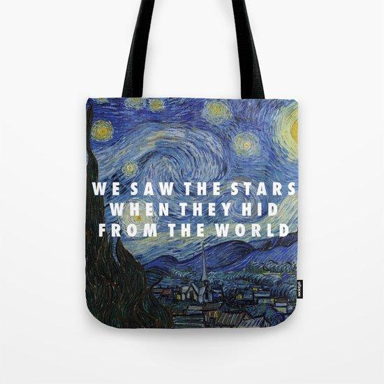 Starry Step Tote Bag