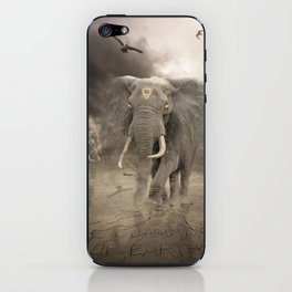The guardians of earth iPhone Skin