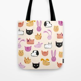All the Pets Tote Bag