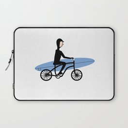 Winter surfer Laptop Sleeve