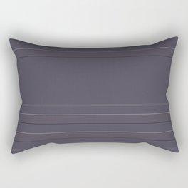 Grape Ship Gray Rectangular Pillow