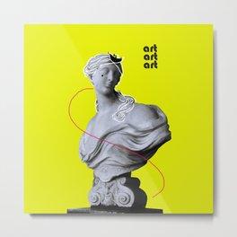 ART  STATUESQUE  Metal Print