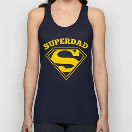 Superdad | Superhero Dad Gift Unisex Tank Top