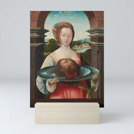 Salome with the Head of John the Baptist, Jacob Cornelisz van Oostsanen, 1524 Mini Art Print