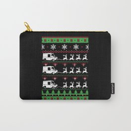 Post Mail Xmas Ugly Christmas Sweater Carry-All Pouch