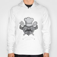 chef Hoodies featuring MONSTER CHEF by MostrOpi