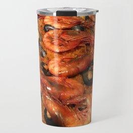 Shrimp Mussel Rice Travel Mug