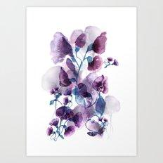 Weaving shadows Art Print