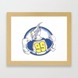 Beast Hockey Logo #99 Framed Art Print