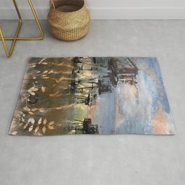 Maunsell Forts Rug