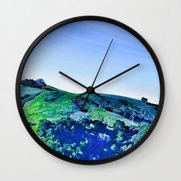 Paso Robles Hill Wall Clock