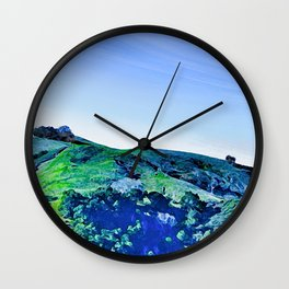 Paso Robles Hill Wall Clock