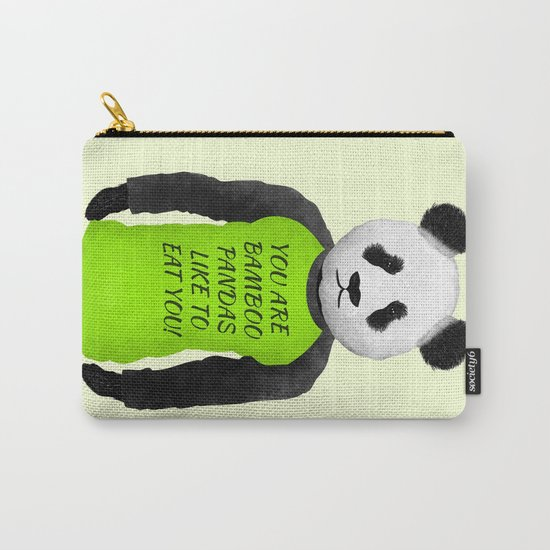 Panda You are Bamboo Carry-All Pouch