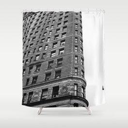 Flatiron Rainy Day III Shower Curtain