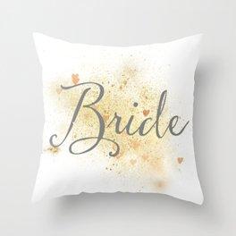 Shining Bride Throw Pillow