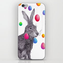 Rainbowrabbit iPhone Skin