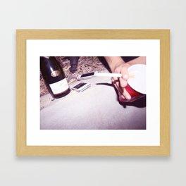 4 Shots Framed Art Print