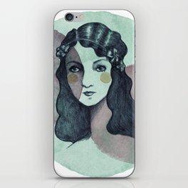 Vintage Girl iPhone Skin