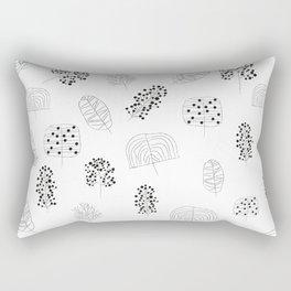 trees /Agat/ Rectangular Pillow