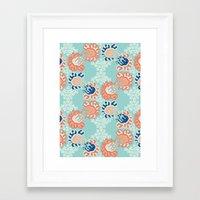nouveau Framed Art Prints featuring NOUVEAU by Sarah Doherty
