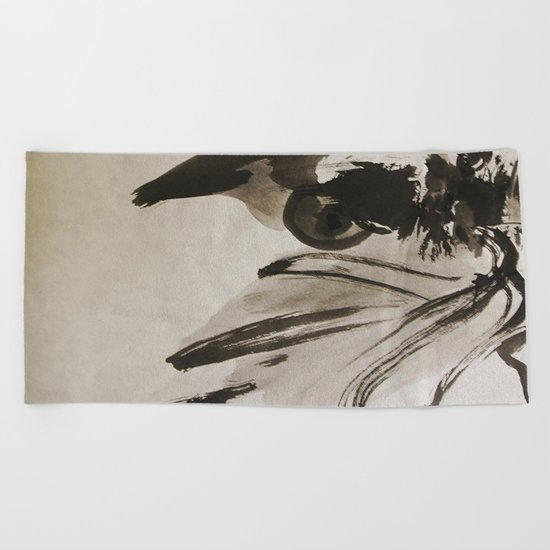 Ming's Dragon Beach Towel
