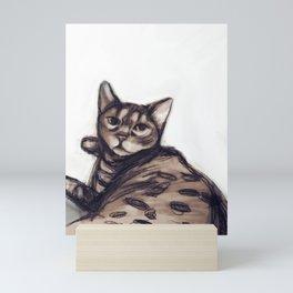 Bengal cat Mini Art Print