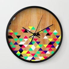 Geometric Polygons Arbutus Wall Clock