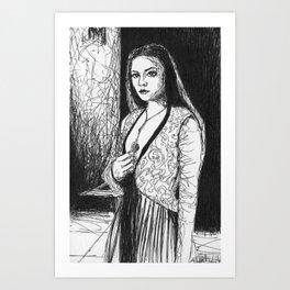 Queen  Art Print