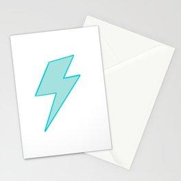 Bolt- Aqua Stationery Cards