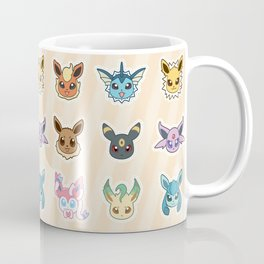 Colorful Pockt Friends Coffee Mug