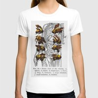 bees T-shirts featuring bees by Ashley Moye
