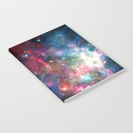 Cosmic Connection, Galaxy, Space, Nebula, Stars, Planet, Universe, Notebook