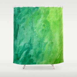 Mean and Green Shower Curtain