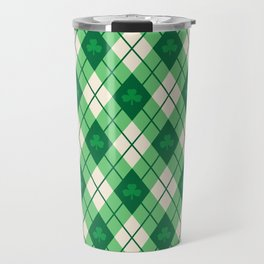 Irish Argyle Travel Mug