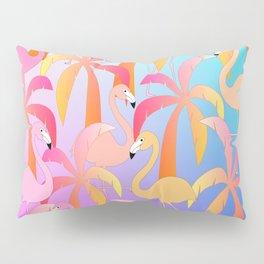 Flamingo Jungle Pillow Sham
