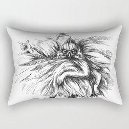 Dance Macabre Rectangular Pillow