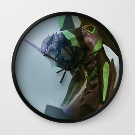 EVA Unit 01 Wall Clock