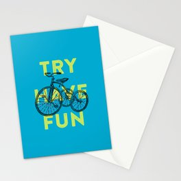 Try have fun Stationery Cards