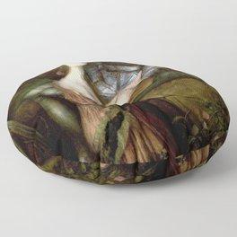 John William Waterhouse - Lamia - Digital Remastered Edition Floor Pillow