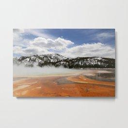 Mountains across the Basin Metal Print