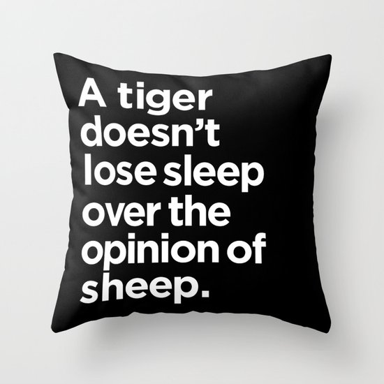 Throw Pillows Quilted : Quote Throw Pillow by Quotes Society6