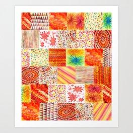 PARCHES Art Print