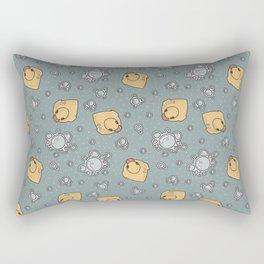 rubber duck Rectangular Pillow
