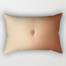 Belly Button Rectangular Pillow