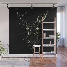 Smoke Deer Wall Mural